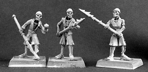 Discontinued 3 Skeletal Harpooners