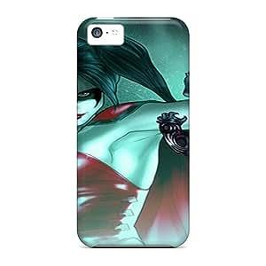 Unique Design Iphone 5c Durable Cases Covers Harley Quinn