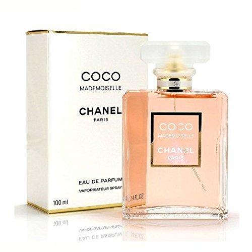 C.H.A.N.E.L Coco Mademoiselle Eau De Parfum Spray for Woman. EDP 3.4 fl oz, 100 ml