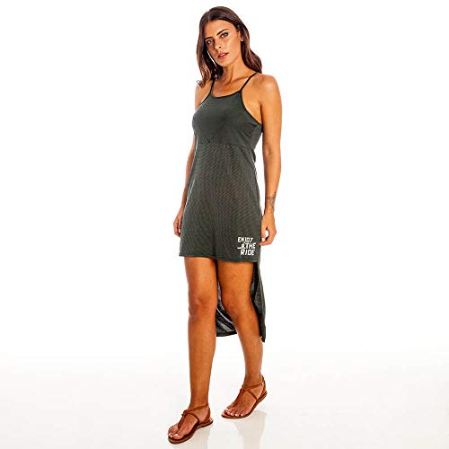 44c0be65a4 Vestido Acqua Peach Skin Feminino Hang Loose Verde - P ...