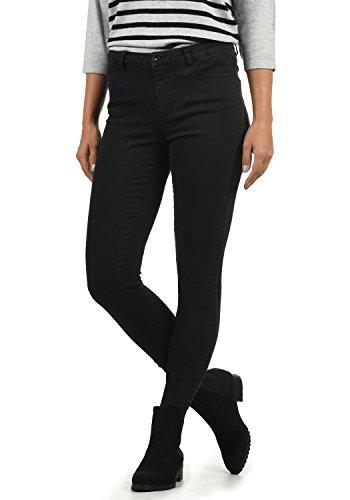 Vero Moda Jenna Jeans Denim Pantalon Strech Femme Skinny Fit?, Couleur:Black, Taille:XS/ L32