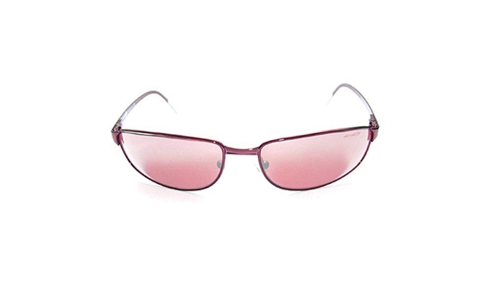 Arnette Steel Demon Sunglasses Italy AN3001 511/60 Copper Frame with Red Lens