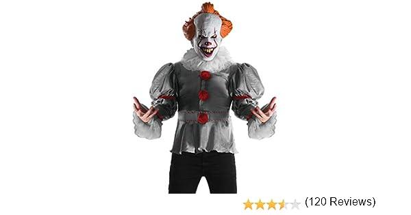 Stephen King - Disfraz de payaso Pennywise Deluxe para adulto ...