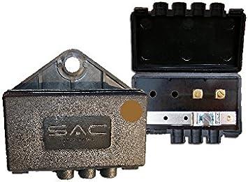 Sac Caja de Juntas coaxiales externas para Antena de TV/Dab/FM
