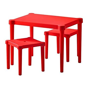 Ikea Utter Childrenu0027s Table And 2 Chairs, ...
