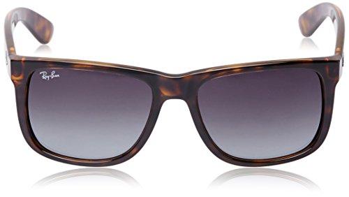 mm 8G Brown Unisex 710 Ray de 55 Gafas Ban Justin Marrón sol RB4165 gWvvqA6xw7