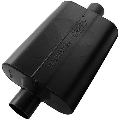 Flowmaster 942545 Super 44 Muffler - 2.50 Center IN / 2.50 Center OUT - Aggressive Sound