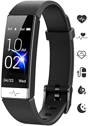 GOGUM Fitness Tracker, Heart Rate Monitor IP68 Waterproof Activity Tracker HRV Health Watch SPO2 Blood Oxygen Blood Pressure with Sleep Monitor and 11 Sport Modes for Women and Men