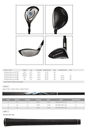 TaylorMade-N1122407-JetSpeed-Golf-Rescue-Mens-Right-Handed-Regular-Graphite