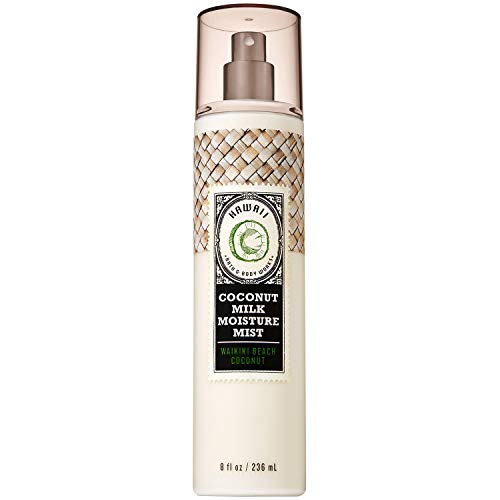 Bath and Body Works WAIKIKI BEACH COCONUT Coconut Milk Moisture Mist 8 Fluid Ounce
