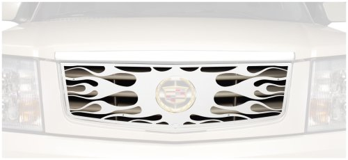 Putco 89115 Flaming Inferno Mirror Stainless Steel Grille