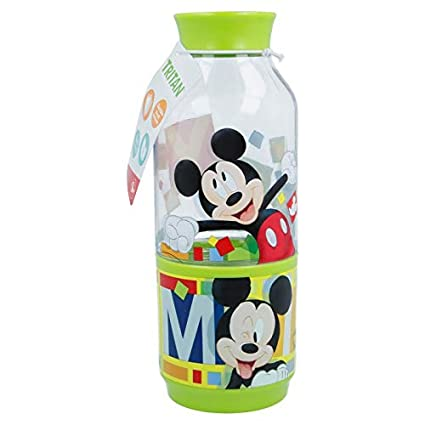 Stor Botella Snack 300 ML. Mickey Watercolors