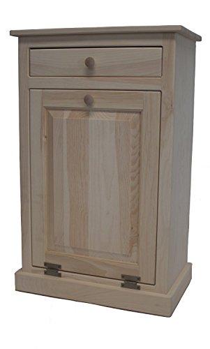 Pine Tilt Out Laundry Hamper (Unfinished) ()