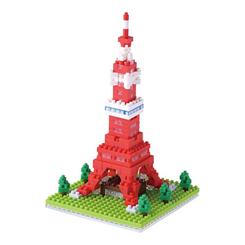 (Nano Block Tokyo Tower NBH_90 by Kawada)