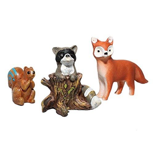 Miniature Garden Animals Racoon Dollhouse product image