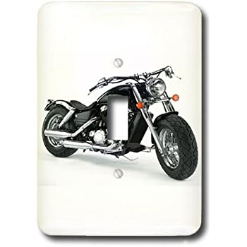 3dRose lsp/_4492/_1 Picturing Harley Davidson Motorcycle Light Switch Cover