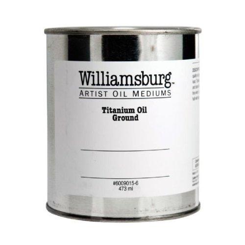 Williamsburg 16 oz Titanium Oil Ground