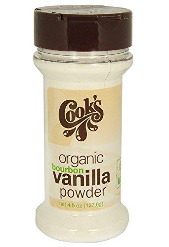 - Cook's Organic Pure Bourbon Vanilla Powder, 4.5 oz