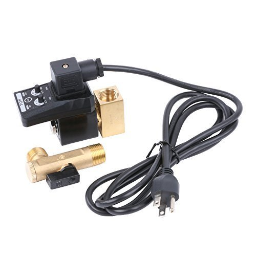 Automatic Electronic Timed Air Tank Water Moisture Drain Valve for Compressor Automatic Drain