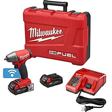 Milwaukee 2758-22CT M18 FUEL with ONE-KEY 3/8 Compact Impact Wrench w/ Friction Ring Kit