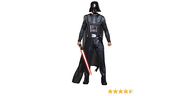 Rubies Star Wars Mens Classic Darth Vader Costume, Multi, X-Large