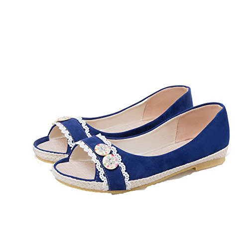 Blue Heels Blend EGHLG004791 Materials Sandals Toe Women's Pull Open WeiPoot Low on TpZSZw