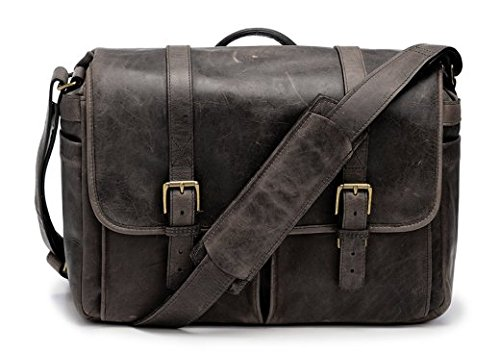 ONA Brixton Leather Messenger Bag (Updated 2015) - Dark Truffle - District Messenger