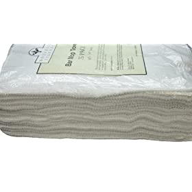 Nouvelle Legende Cotton Bar Mop Ribbed Towels Comm...