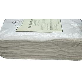 Nouvelle Legende Cotton Bar Mop Ribbed Towels Commercial Grade (25-Pack)