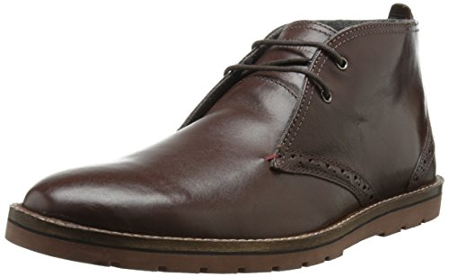 Ben Sherman Men's Oliver Boot,Dark Brown,41.5 EU/8.5 M US