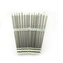 Lead Free Universal T12(Interchangeable with HAKKO T15) Soldering Tip Set 15 pcs for HAKKO FX-951,FX-9501,FM2028/2027 Tools