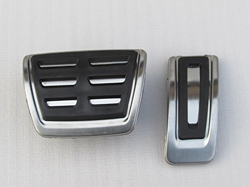 CAIXCAR P013 PEDAL AUDI A1 8 X 2016-2018 A3 8V 2012-2016 TT 8S 2014-2017 Q2 2016-2018 VW GOLF 7 2012-2016 Polo 2015-2018 PASSAT B8 2014-2017 Tiguan 2016-2018 AUTOMATIC GEARBOX