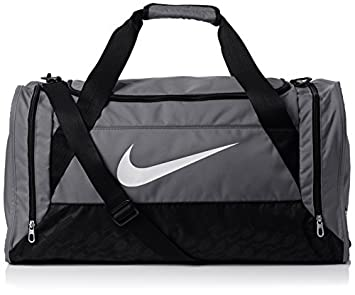 fe7ec7cef1a6 Image Unavailable. Image not available for. Colour  Nike Brasilia 6 Duffel  Bag - Flint ...
