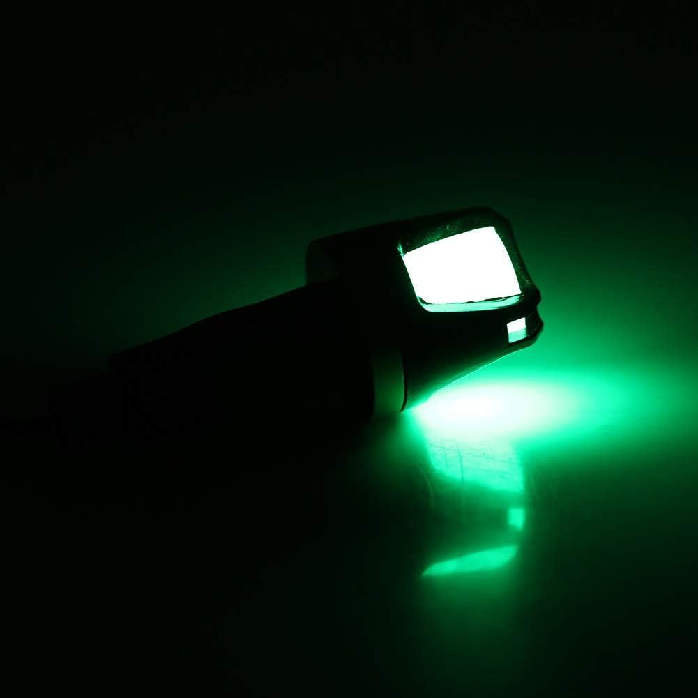 Farbe : Red 1 ST/ÜCK von 12V Motorradlenker Blinker-Warnleuchte f/ür Wasserdichte Anzeige Outbit LED-Blinker blau, gr/ün und rot