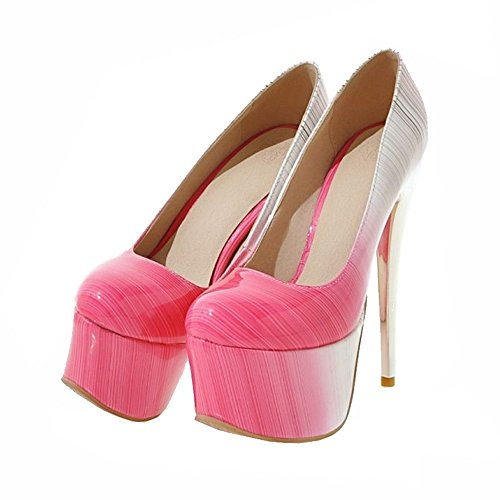SJJH Size Women and Stiletto with Available for Court Gorgeous Shoes Nightclubs UK Shoes Large Pink 11 Parties rWrgXvx6