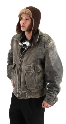 Lined Aviator (Lined Aviator Hat Costume Accessory)