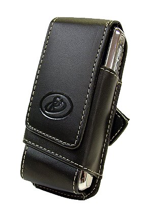 CCS-USA Premium Leather Pouch For Blackberry Pearl 8100, Motorola Krzr, K1m, Rizr z3, z6, z6tv, Nokia 5130, 6300, 6301, 6750 mural, E51, Sonyericsson S500 W580i, ()