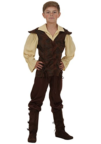 Boys Renaissance Squire Costume Large