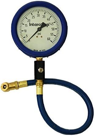 Intercomp 360060 4 60 PSI Glow Air Pressure Gauge