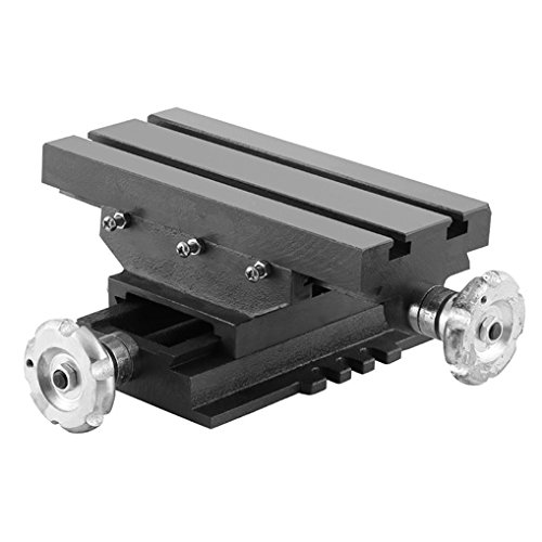 EBERTH 5 2-Achsen Koordinatentisch Arbeitstisch 258 x 123 mm, Arbeitsh/öhe 115 mm, 2 Spannuten