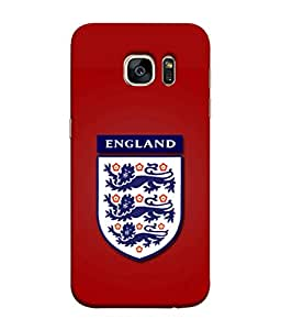 ColorKing Football England 17 Red shell case cover for Samsung S7