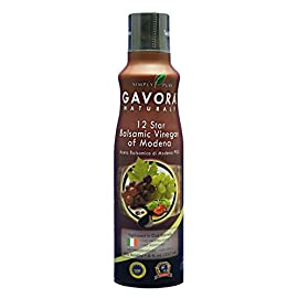 Gavora™ Premium 12 Star Balsamic Vinegar of Modena 25 100% Pure and Natural; No additives or gas propellants Sweet, rich aroma and mellowed in oak barrels Healthy option for vegetables, aged cheeses, soups, and sauces