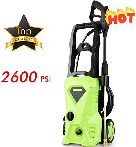 Homdox Power Washer 2600 PSI Electric Pressure Washer 1.6 GPM High Pressure Washer
