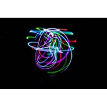 36 - The Ocho - Color Changing LED Hula Hoop - 10 Super Bright LEDS by Electric LifeStylz