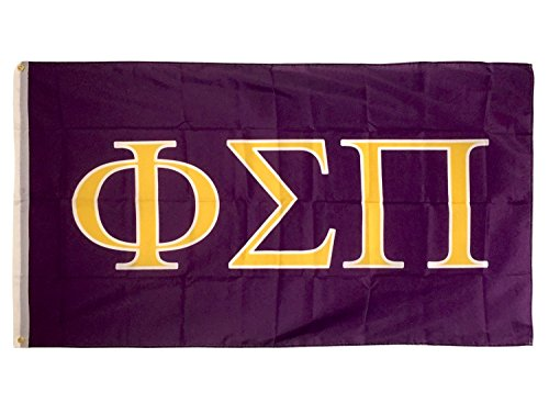 Desert Cactus Phi Sigma Pi Letter Fraternity Flag Greek Letter Use as a Banner Large 3 x 5 Feet Sign Decor Review