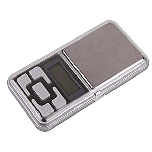 Mini Digital Scale - Pocket Scale 0.01g - 200 gram x 0.01gram Precision Mini Digital Scale Portable Jewelry Scale Balance Weight Electronic Scale for Diamond Gold Herb - Dgital Milligram Scale