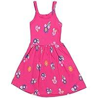 Vestido Regata Infantil de Malha Florido - Brandili