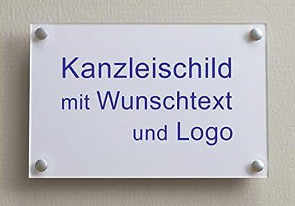 Cartel con texto y logotipo, impresión en blanco, DIN A3 ...