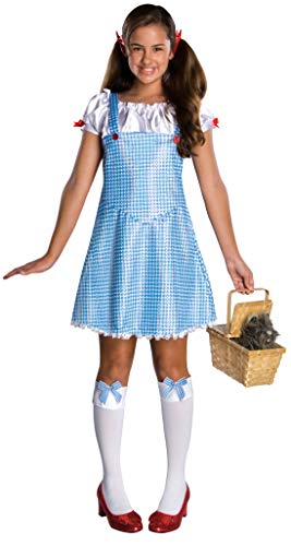 Wizard Of Oz Dorothy Costume, Blue/White, Medium -