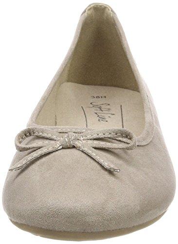 Softline 22164, Bailarinas Para Mujer Beige (Lt. Taupe)